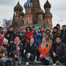 """Asuransi Sinarmas Agency Contest  """"Moscow – St.Petersburg, Russia"""